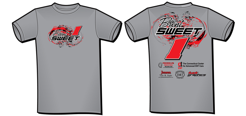 2014 Brent Sweet Modified T-shirt